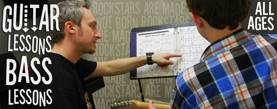 Bass Guitar Lessons All Ages